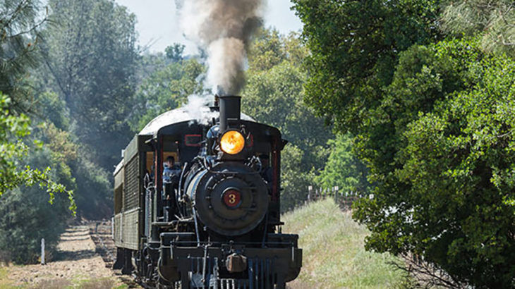 Saturday, April 4, 2015Opening weekend, Railtown 1897 State Historic Park, Jamestown, California.Railtown 1897 State Historic Park is home to the Historic Jamestown Shops and Roundhouse—an intact and still-functioning steam locomotive repair and maintenance facility, portions of which date back to 1897.